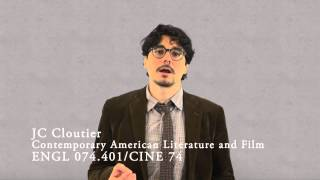 English 074 - Contemporary American Literature and Film