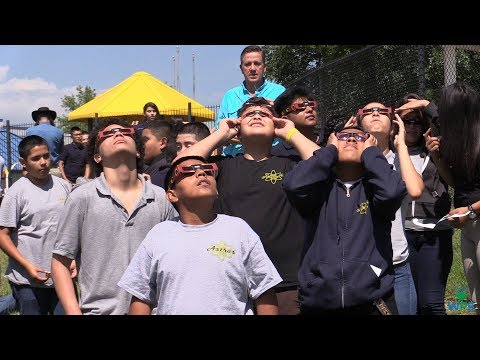 Scott Carpenter Middle School Watches the Great American Eclipse