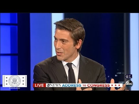 David Muir on President Trump's Address to the Joint Session of Congress 02.28.17
