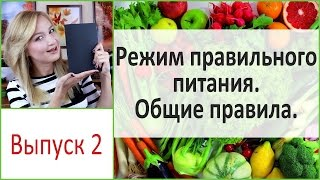 Режим правильного питания. Общие правила. Выпуск 2