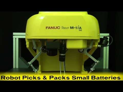 Ultra Fast Pick & Place Robot - FANUC's New Three-Axis Delta