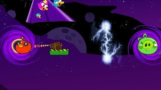 Angry Birds Cannon Collection 5 - HIT THE BAD PIGS THROUGH BLACK HOLE TO RESCUE BIRDS!
