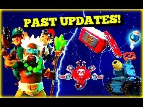 Past Boom Beach Updates!