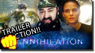 Annihilation Trailer REACTION!! (Netflix Release)