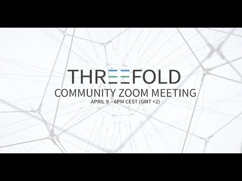Community Update Meeting - 9th of April 2018