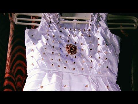 Most beautiful bead work || simple and easy work  // #beadwork // #handembroidery // #aariwork