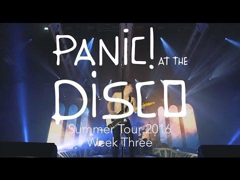 Panic! At The Disco - Summer Tour 2016 (Week 3 Recap)