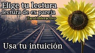 Ex pareja. Lectura Intuitiva. Elige tu opción