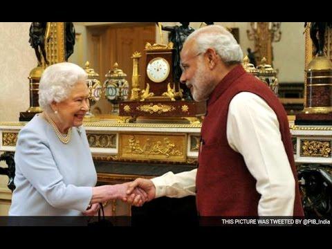 Queen Elizabeth Hosts Lunch For PM Narendra Modi