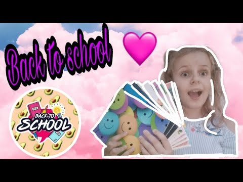 Back To School//Новая канцелярия//Кира Лайк