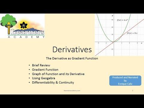 Derivatives 030 Derivative As Gradient-Function