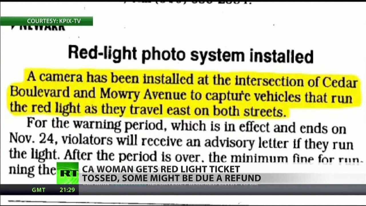 Traffic Camera Snafu Could Cost California $5 Mln