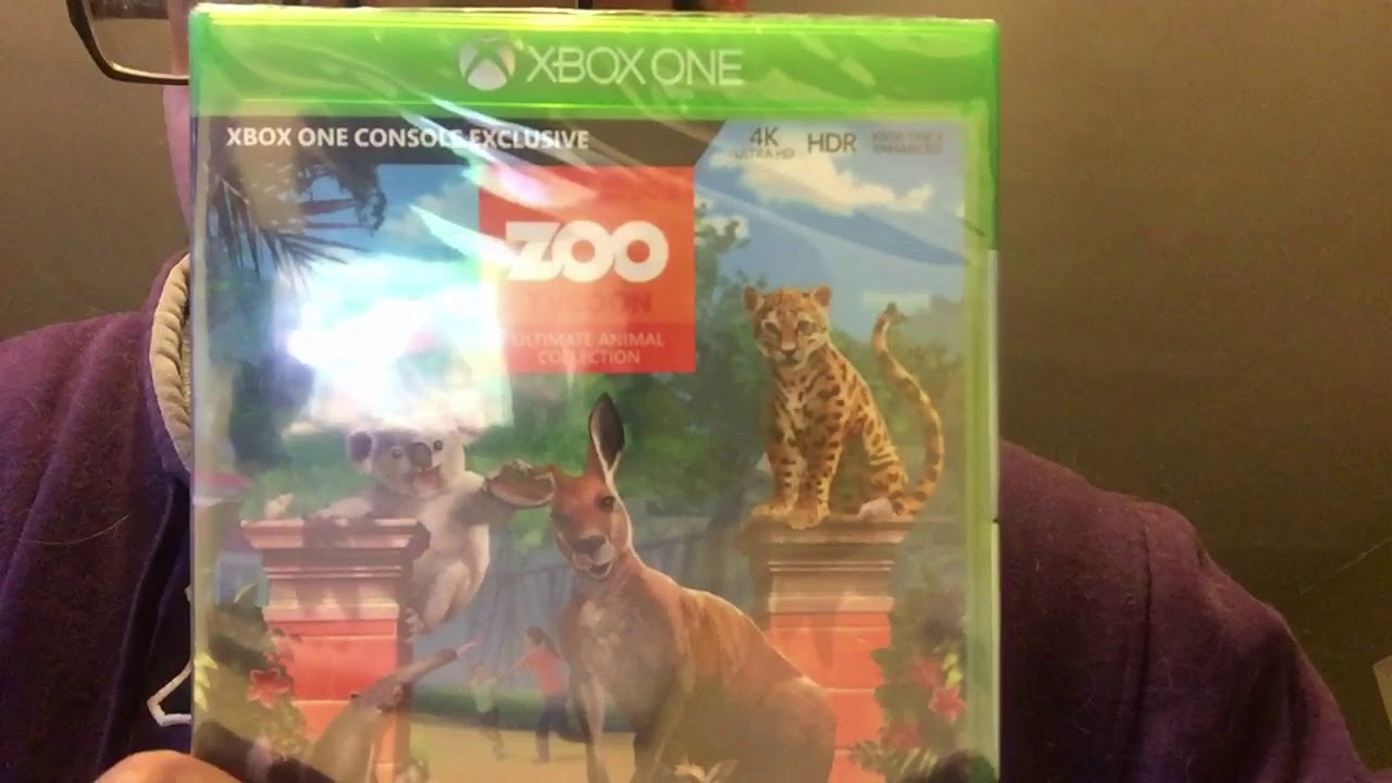 Zoo Tycoon Ultimate Animal Collection Xbox One Unboxing
