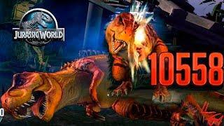 Унижение Тираннозавра....но не сразу) Jurassic World ИГРА