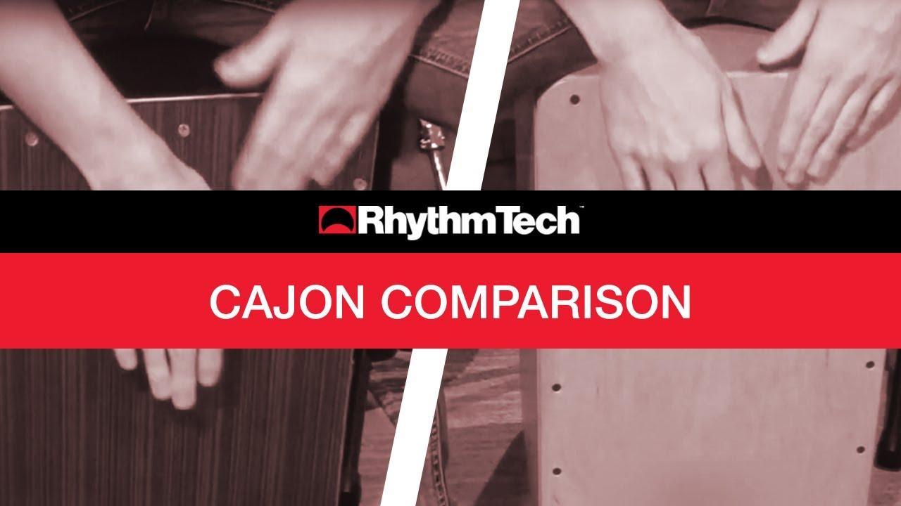 Rhythm Tech Cajon Tone Comparison