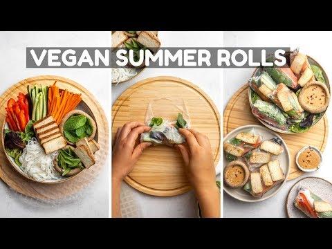 How to Make Vegan Summer Rolls (w/ Easy Steps!)