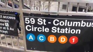 MTA New York City Subway: A Tour Of The 59th Street-Columbus Circle Station