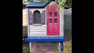Pegeen's Urban Chicken Coop
