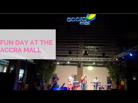 Ghana vlog 3: FUN DAY AT THE ACCRA MALL