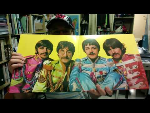 Sgt Pepper 50th Anniversary Remixed Edition Unboxing 2017 (double vinyl edition)