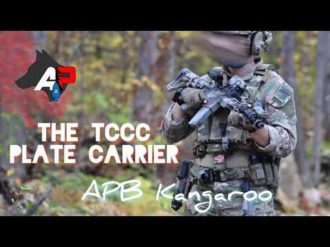 APB Kangaroo - The TCCC Plate Carrier By Aussie Peelback - Built Around The MED Plate IFAK