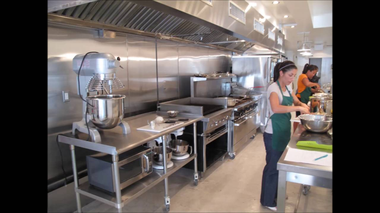 Modular commercial kitchen for small catering needs youtube for Small commercial kitchen design ideas
