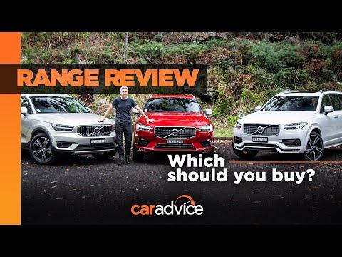 Range Review: Volvo XC40, XC60, XC90