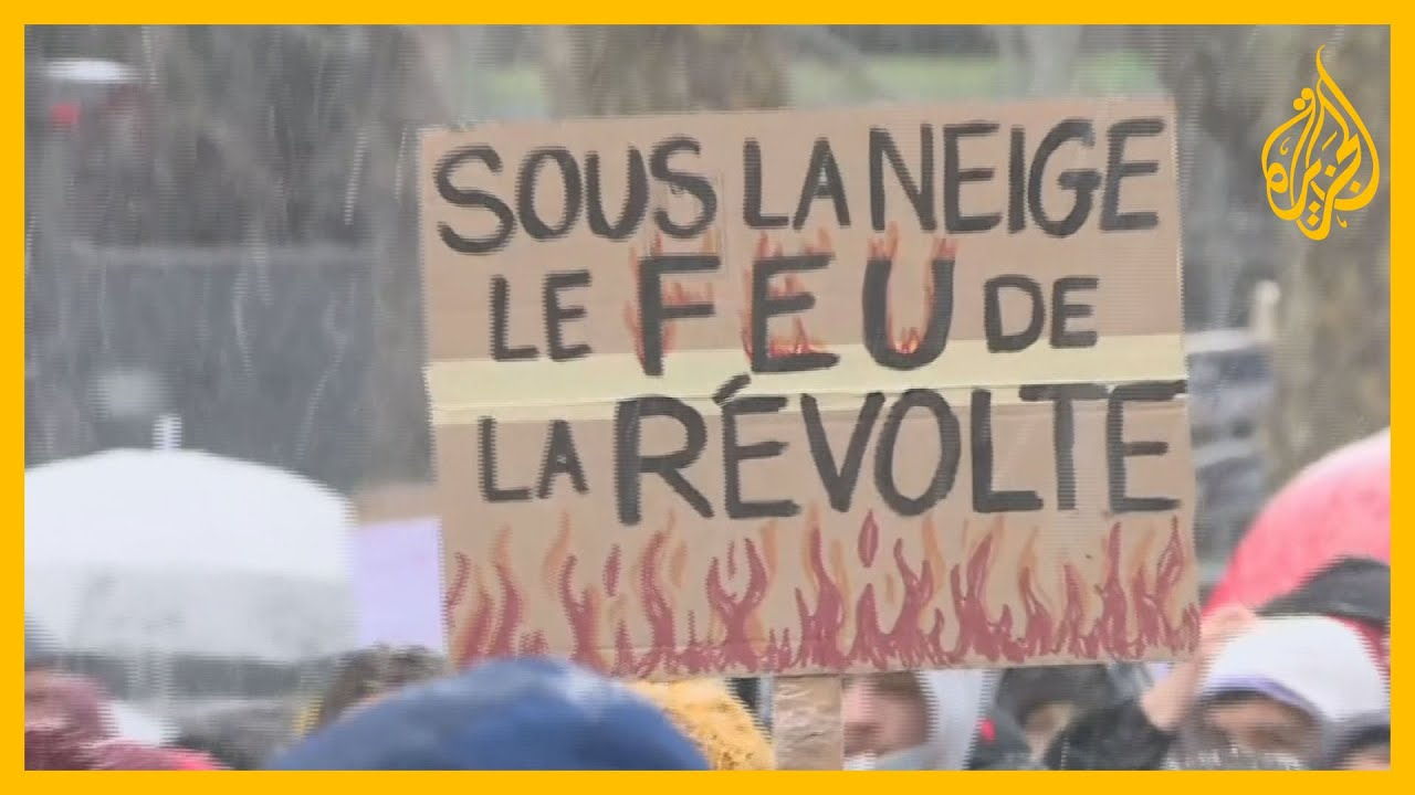 آلاف الفرنسيون يتظاهرون رفضا لمشروع قانون الأمن الشامل  - نشر قبل 4 ساعة