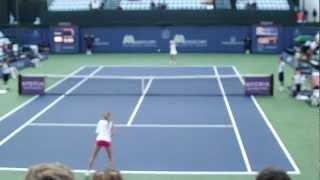 Daniela Hantuchova v Urszula Radwanska Mercury Insurance Open 7-16-12 First Round