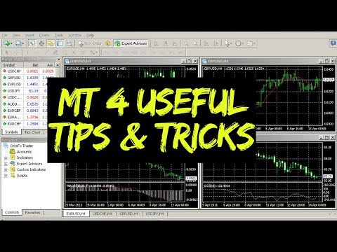 10 Tips and Tricks for using MetaTrader 4 👍