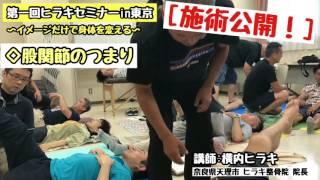 整体 治療技 【第1回ヒラキセミナーin東京】施術大公開 thumbnail