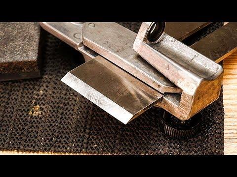 How to get a STUPIDLY SHARP edge on a PLANE blade