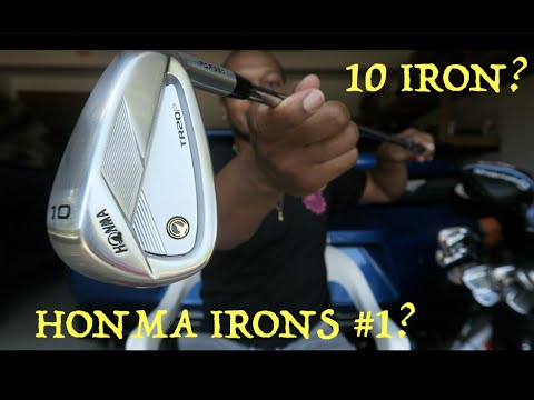 Unboxing My New Honma TR20P Irons!! (Why Justin Rose Dumped Them)