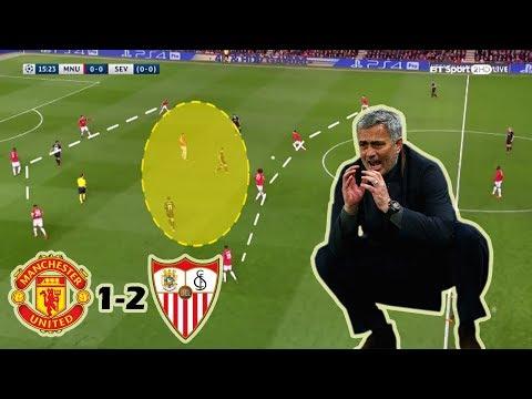 Manchester United vs Sevilla FC 1-2 | Tactical Analysis | UCL 2nd Leg