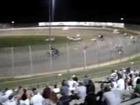 6/21/08 Lake Ozark Speedway 360 Sprint Car A Main