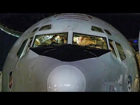 AWACS Mission Over