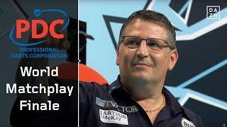 Herzschlagfinale zwischen Gary Anderson und Mensur Suljovic | World Matchplay 2018 | Finale | PDC