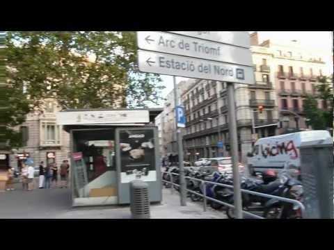 "Urquinaona ""Key"" Metro Station Barcelona"