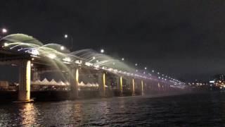 2017-05-05首爾漢江公園-盤浦大橋-月光彩虹噴泉