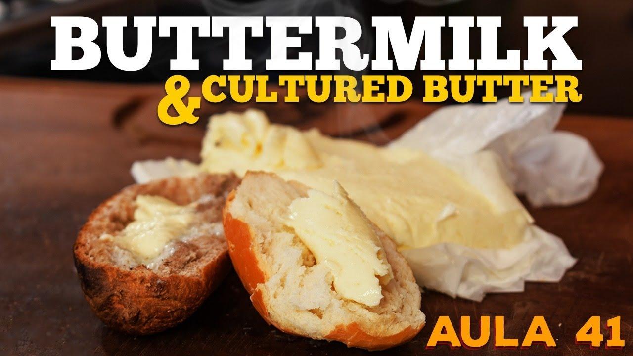 Buttermilk / Cultered Butter (Como fazer Buttermilk) - Cansei de Ser Chef