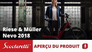 Riese & Muller Nevo Vélo Électrique (2018) - Scooteretti Québec et Ontario