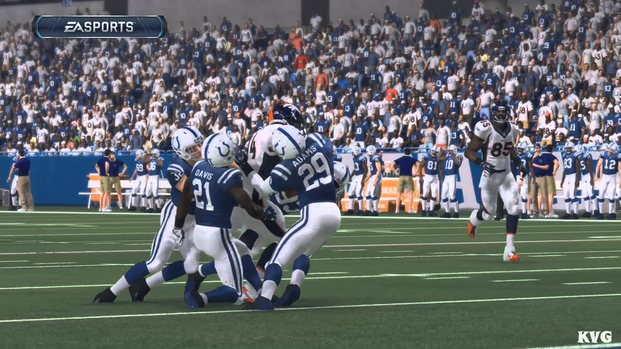 Madden Nfl 16 Denver Broncos Vs Indianapolis Colts Gameplay