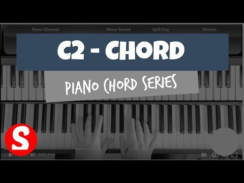 How to Play a C2 Chord on the Piano | (Synthesia) [Easy Piano Tutorial] [HD]