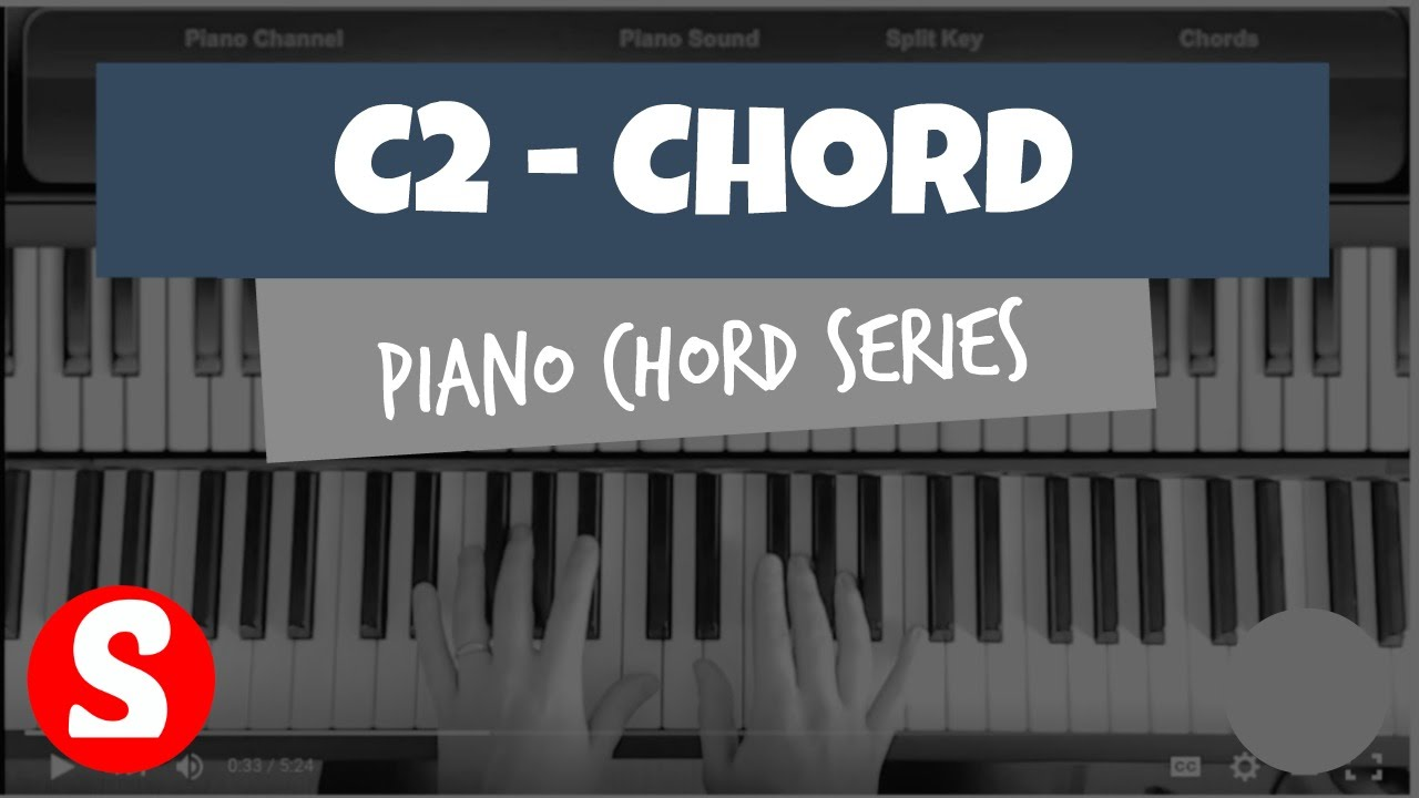 How to play a c2 chord on the piano synthesia easy piano how to play a c2 chord on the piano synthesia easy piano tutorial hd hexwebz Images