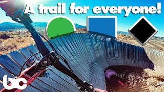 THIS BIKE PARK HAS A TRAIL FOR EVERYBODY!   Trailside Bike Park