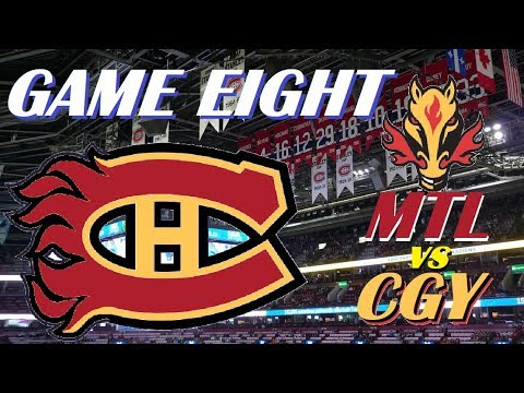 NHL - Montreal Canadiens vs Calgary Flames - These Habs are On Fire! - October 23, 2018