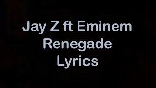 Download Jay Z ft Eminem - Renegade [Lyrics] Mp3 and Videos