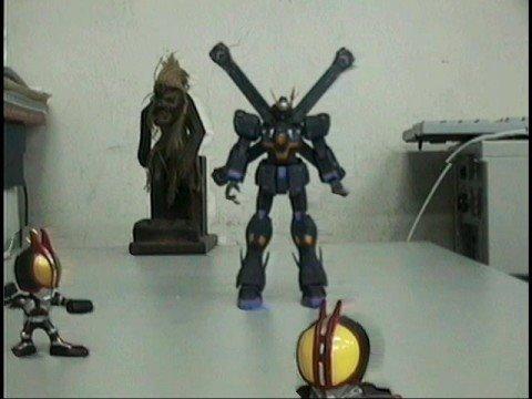 Free viewpoint Video - Gundam