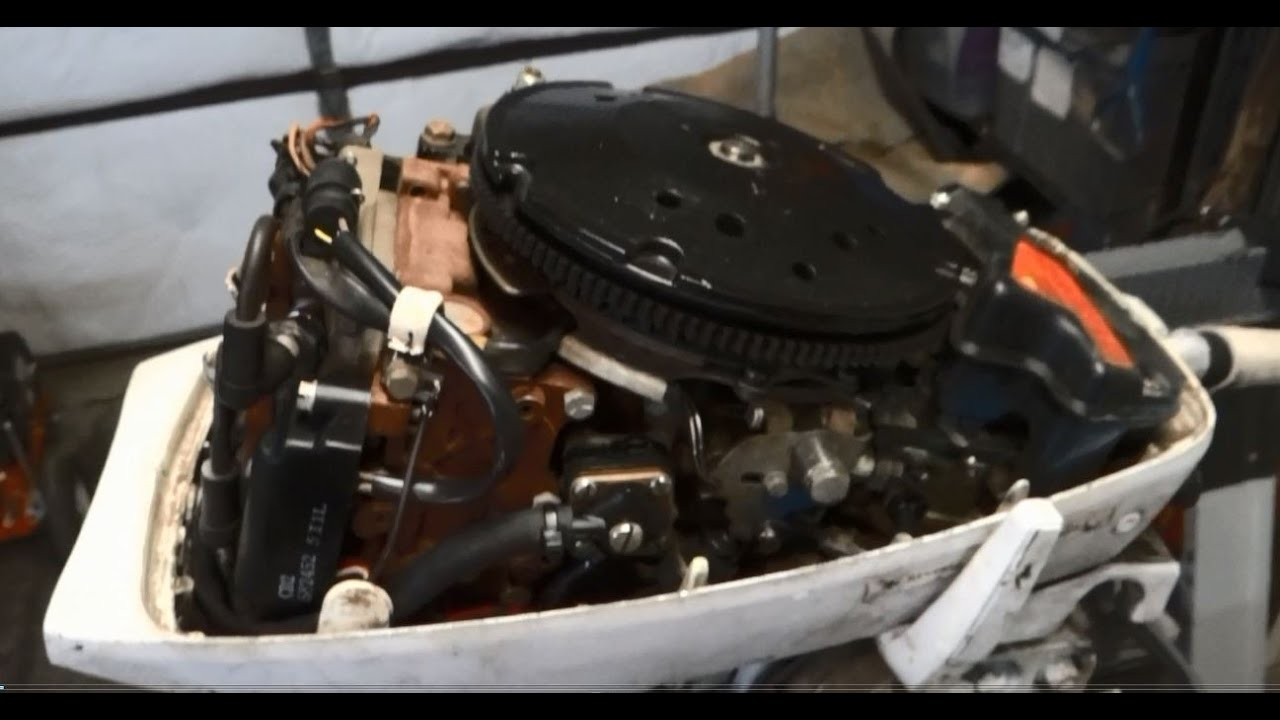 how to easily change a fuel pump in a 1977 johnson 9 9 hp outboard evinrude [ 1280 x 720 Pixel ]