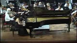 Mendelssohn: Piano Concerto No. 1, 3rd mvt. Presto - Molto allegro e vivace  by Christine Tchii